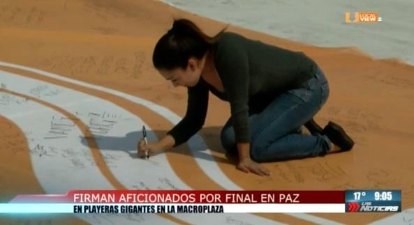 Gran ambiente en Monterrey, previo a la gran final del Futbol Mexicano