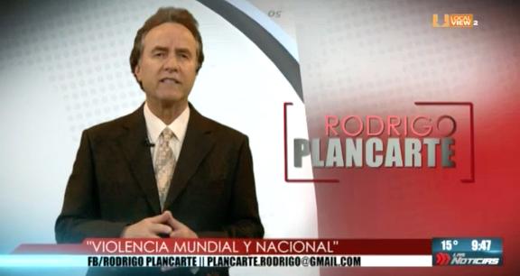 Opinión. Rodrigo Plancarte. Violencia mundial y nacional
