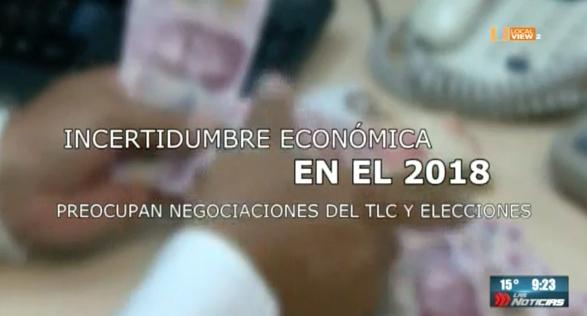 Panorama económico incierto para 2018