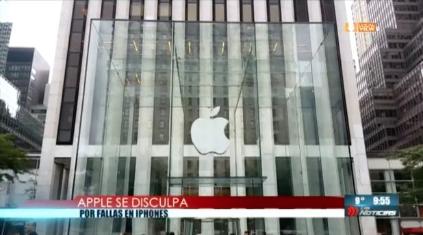 Apple se disculpa por la ralentización de los viejos iPhones.