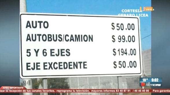 Golpe a los ciudadanos. Aumentan cuotas de peaje en autopistas de Nuevo León