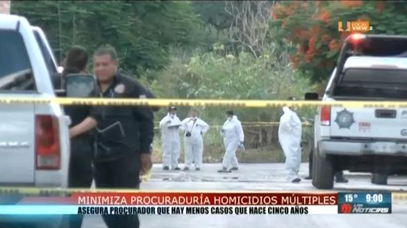 Autoridades minimizan la racha de multihomicidios en Nuevo León