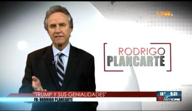 #Opinión. Rodrigo Plancarte. Trump y sus genialidades