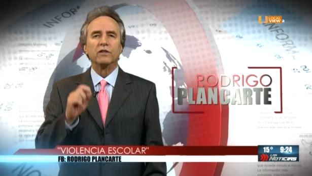 #Opinión. Rodrigo Plancarte. Violencia escolar