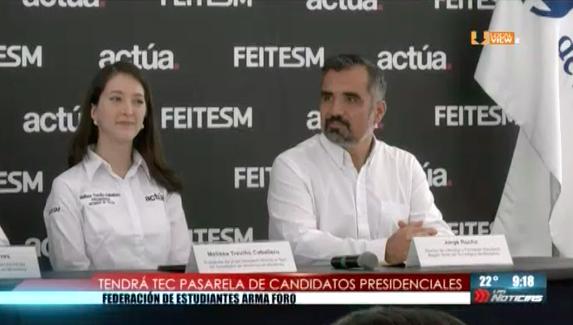 Estudiantes del Tec de Monterrey planean encuentro con candidatos presidenciales