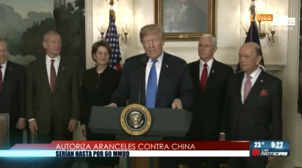 Comienza la guerra comercial de Donald Trump. China es el primero de su lista
