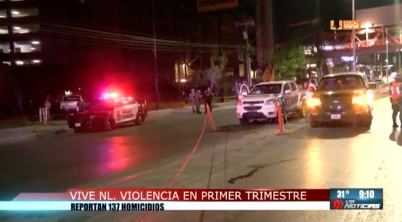 Inseguridad y violencia sigue siendo la constante en Nuevo León. Así lo revelan las estadísticas del primer trimestre