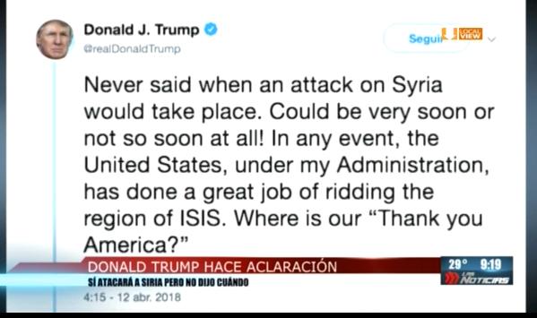 Aumenta tensión entre Estados Unidos y Rusia, en torno a Siria