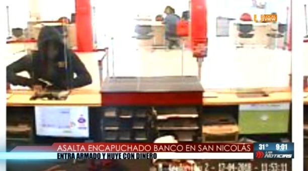 Asaltos bancarios en San Nicolás