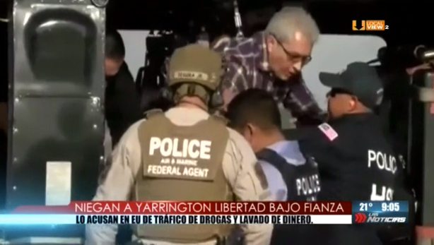 Niegan a Yarrington libertar bajo fianza