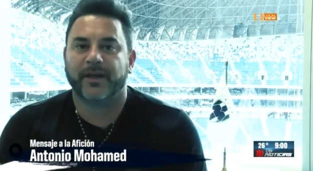 Asi se despidió Antonio Mohamed de los aficionados de Rayados