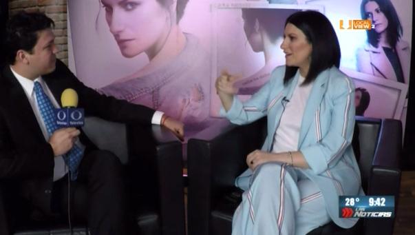 #Entrevista a @Laura_Pausini. Nos platica de su nuevo disco y de su gusto por Monterrey
