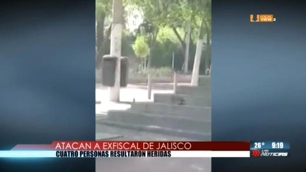 #Video. Balacera en Guadalajara. Atentado contra el ex Fiscal General de Jalisco