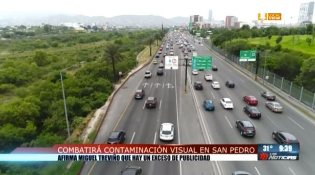 Grave problema de contaminación visual en la zona metropolitana de Monterrey