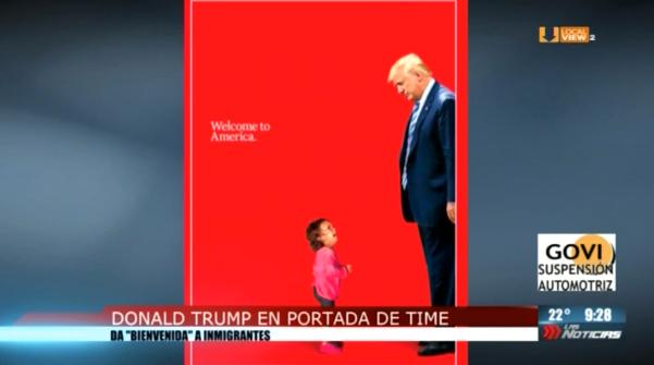 Les comparto la portada del último numero de la revista Time