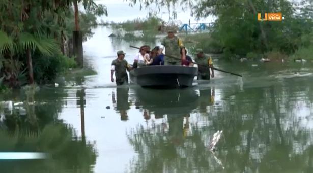 Serias afectaciones en Reynosa debido a las lluvias de esta semana