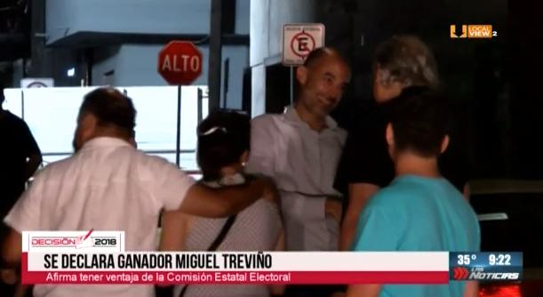 El virtual ganador de la alcaldía de San Pedro, Miguel Treviño, promete aprovechar los próximos meses, antes de asumir el cargo