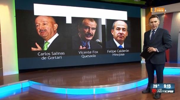 AMLO recibe felicitaciones de ex-presidentes. Aún así, les quitará la pensión vitalicia