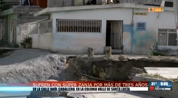 """Mientras las autoridades se """"echan la bolita"""", podría ocurrir una tragedia al norte de Monterrey"""