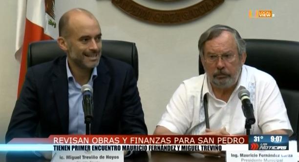 Comienza la transición en San Pedro. #Entrevista al Alcalde Electo @miguelbtrevino