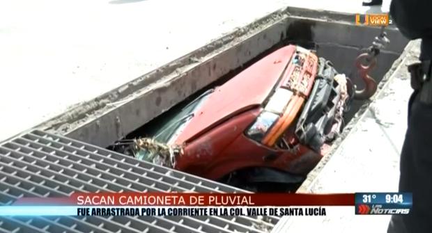 Ya sacaron la camioneta, pero sigue el peligro para los vecinos del norte de Monterrey