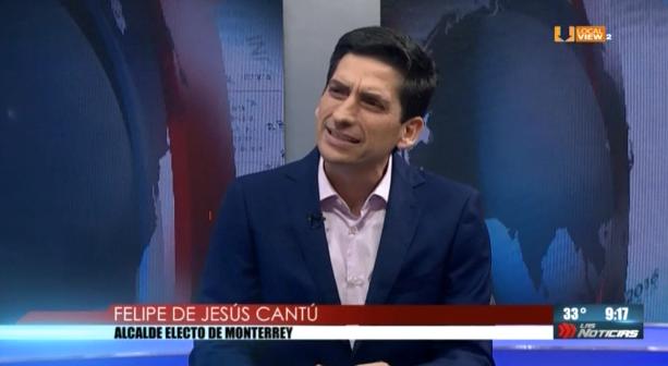 #Entrevista con el Alcalde Electo de Monterrey @FelipeCantuR