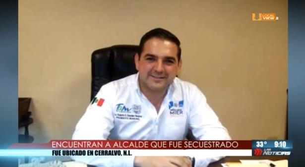 Encuentran en Cerralvo, NL a alcalde que fue secuestrado