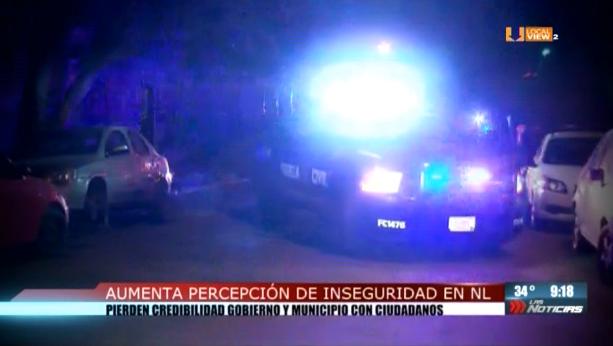 En Nuevo León nos sentimos cada vez más inseguros, revela el Pulsómetro Ciudadano