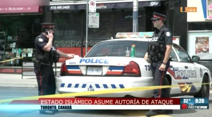 Estado Islámico asume autoría de ataque en Canadá