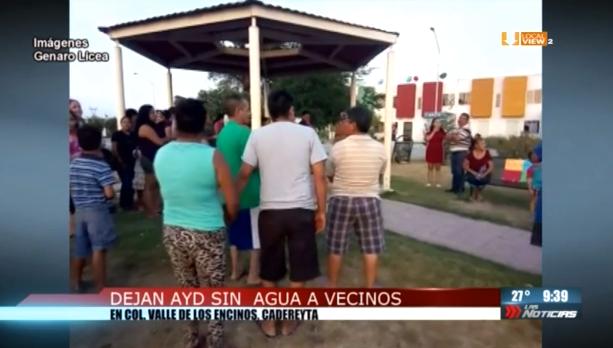 Cadereyta se suma a la lista de municipios con desabasto de agua potable en el estado de Nuevo León