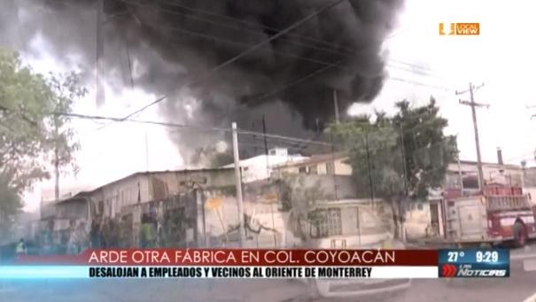 Saldo blanco en los dos incendios registrados ayer en la zona metropolitana de Monterrey