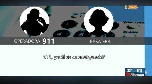 #Audio de las llamadas que hicieron pasajeros del #Vuelo2431 al 911