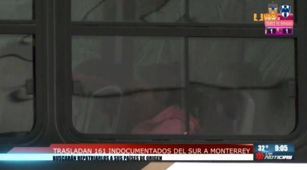 Otros 161 indocumentados fueron rescatados en Nuevo León