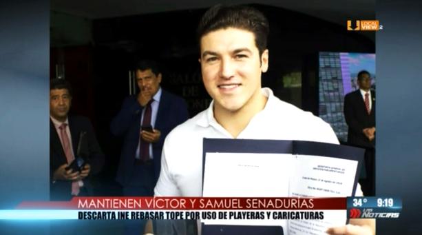 Samuel García y Víctor Fuentes mantienen senadurías. El INE resuelve que no rebasaron los gastos de campaña
