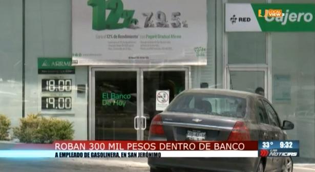 Ola de asaltos en la zona metropolitana de Monterrey