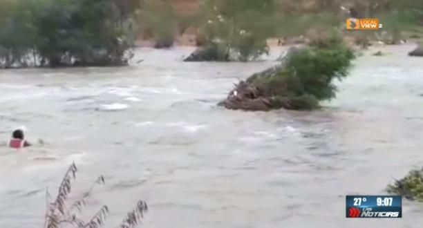 Se conocen más detalles del rescate del domingo en el Río Santa Catarina