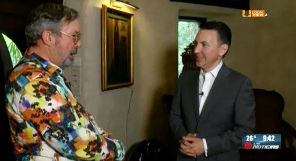 """Esta es la primera parte de la entrevista al Alcalde de San Pedro, Mauricio Fernández, en """"La Milarca"""""""