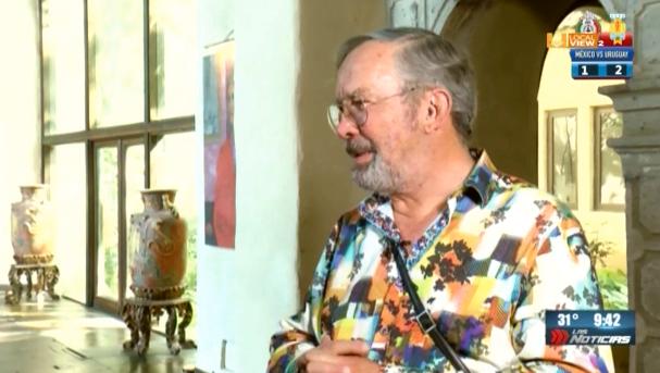 """Aquí la segunda parte de la entrevista a Mauricio Fernández, en su residencia """"La Milarca"""""""