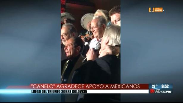 """Saúl """"Canelo"""" Álvarez agradece el apoyo de empresarios mexicanos"""