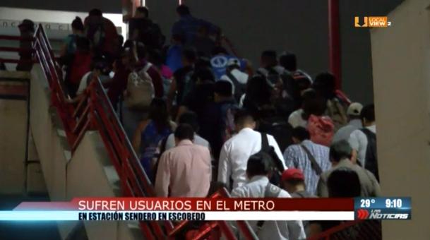 Así opera el metro en la ciudad de Monterrey. Y así pretenden aumentar la tarifa