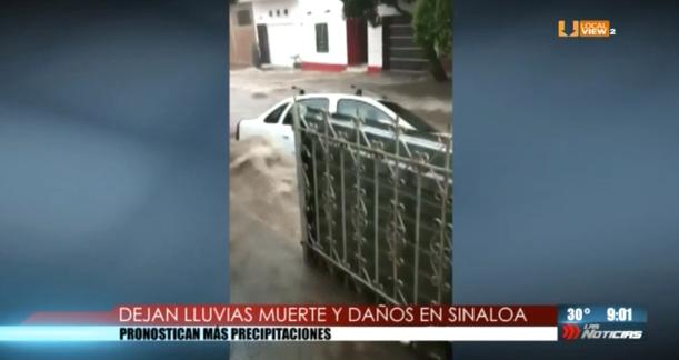 Contingencia en Sinaloa por las lluvias e inundaciones provocadas por la depresión tropical 19-E. Aquí el reporte completo