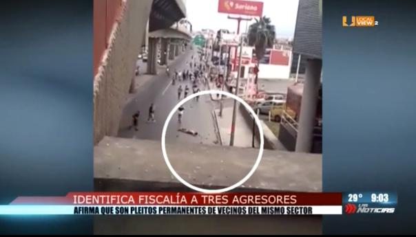 Identifican a los autores del ataque previo al #ClásicoRegio117. El Secretario de Seguridad defiende a los policías que pasaban por el lugar