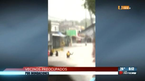 Vecinos de Fomerrey 45 La Estanzuela están preocupados por el riesgo que enfrentan cada vez que llueve