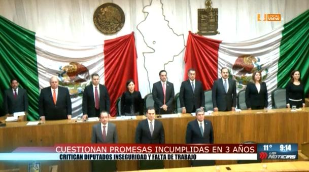 Así reclamaron los diputados las promesas incumplidas del gobernador de Nuevo León