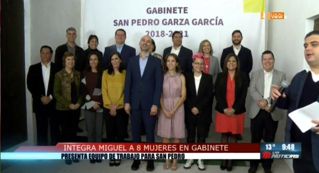 El Alcalde Electo de San Pedro presentó a los Integrantes de su gabinete