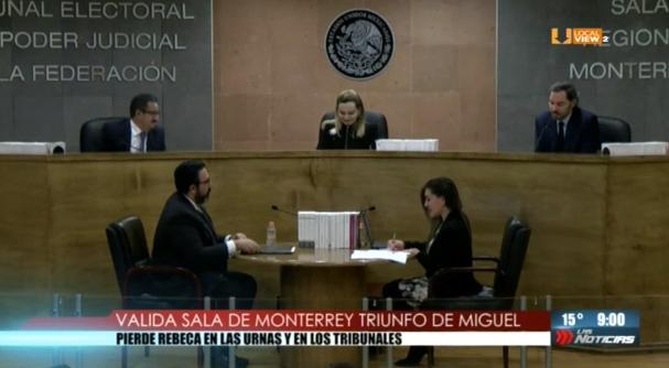 Ratifica la Sala Regional Monterrey del TEPJF el triunfo de @miguelbtrevino en San Pedro