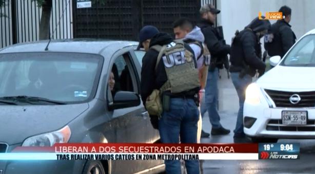 Liberan a dos secuestrados en Apodaca