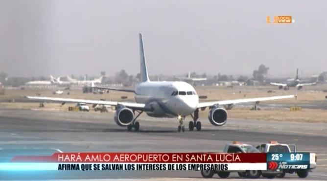 Turbulencia en los mercados tras la decisión de cancelar la construcción del nuevo aeropuerto de la Ciudad de México