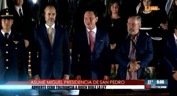 Miguel Treviño rindió protesta como Alcalde de San Pedro