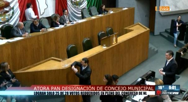 Se prolonga el vacío de poder en el gobierno municipal de Monterrey